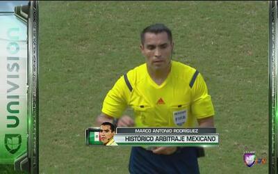 Marco Antonio Rodríguez pitará el Brasil vs Alemania