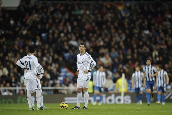 La sorpresa en el estadio Santiago Bernabéu era total.