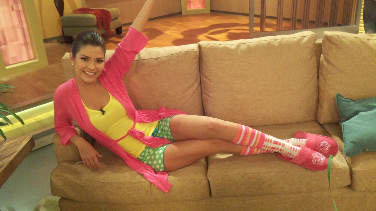 ¡Qué look más relajado! Así vimos a Ana Patricia en una mañana de pijama...