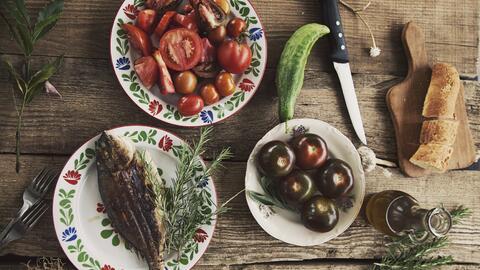 Cinco ingredientes de buena calidad bastan para preparar una rica cena e...
