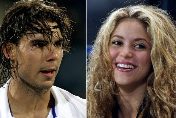 Nadal ha estado agradecido con Shakira por haber participado en su video...