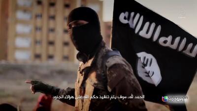 Tras la pista del militante islámico con acento estadounidense en video...