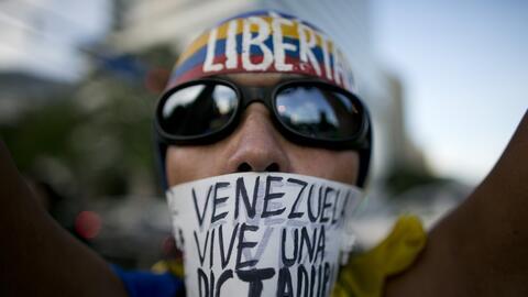 Venezuela vive semanas de movilizaciones políticas en contra del preside...