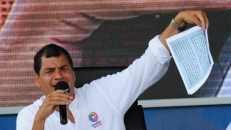 Correa reconoció que la solicitud de asilo a Rusia por parte de Edward S...