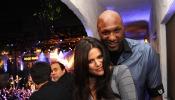 Lamar Odom cuando estaba casado con Khloé Kardashian.