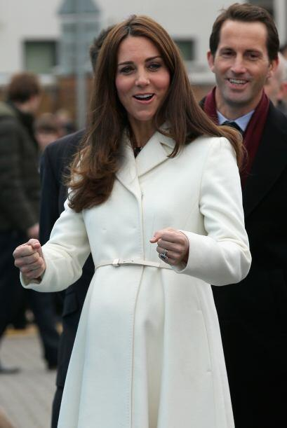 ¿Será que Kate ya sabe el sexo de su bebé?