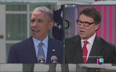 Obama entre críticas por no ir a la frontera a ver de cerca la crísis de...