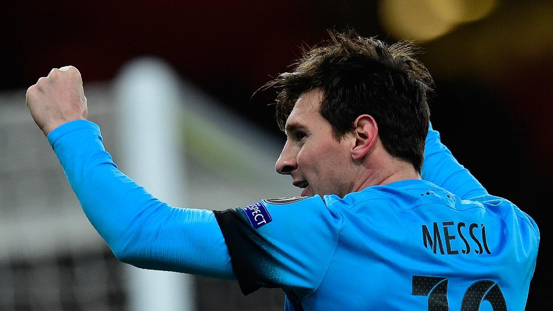 Messi marcó el gol 10 mil del Barcelona