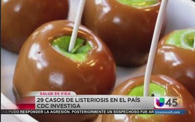 Lanzan alerta por manzanas acarameladas