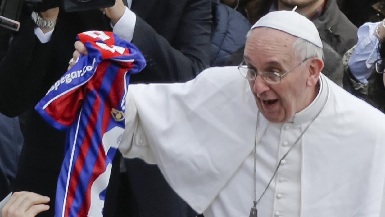 El Papa Francisco es seguidor de San lorenzo
