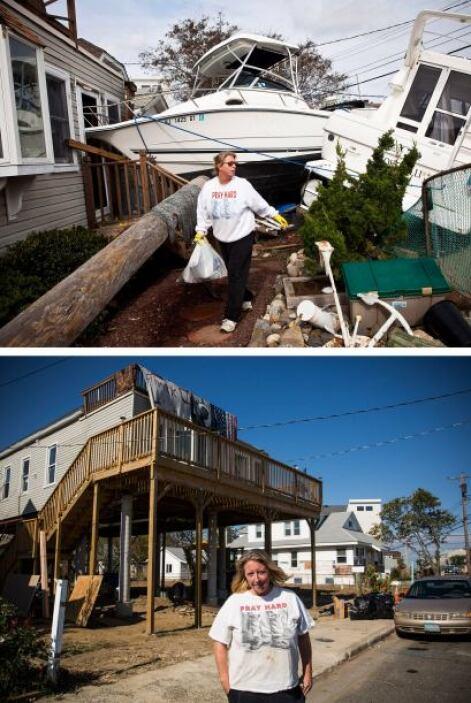 El 1 de noviembre de 2012 Regina Yahara-Splain intentaba limpiar su casa...