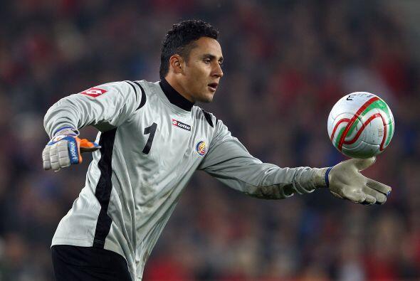 Justo en la Copa Oro del 2009, Navas fue nombrado mejor guardameta del t...