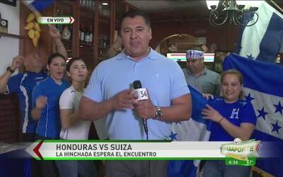 Hondura con ánimos de ganar