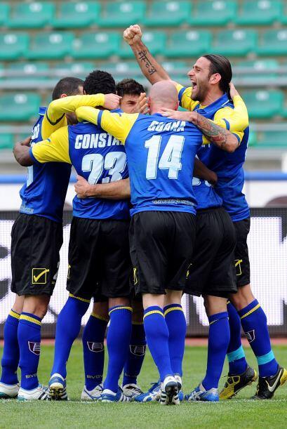 Sólo con un gol de Davide Moscardelli en el segundo tiempo sirvió para q...