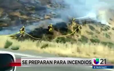 Educan sobre riesgos de incendios