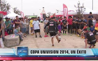 Ambientazo de Copa Univision