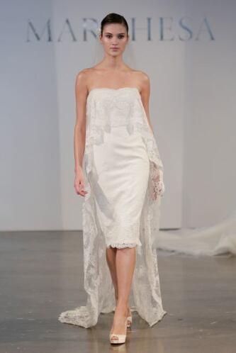 El uso del tradicional velo tampoco está restringido para las novias que...