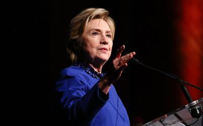 Hillary Clinton durante una aparición pública reciente