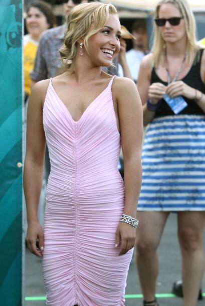 La actriz Hayden Panettiere, la bella novia del campeón mundial d...