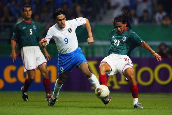 Al partido ante Italia disputado en Oita, México llegaba como l&i...