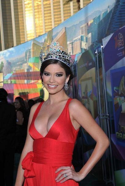 Ana Patricia González llegó despampanante el año que ganó la corona de N...