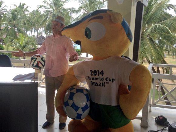 """""""Un poquitito de lo que estamos haciendo en Brasil para el Mundial 2014""""..."""