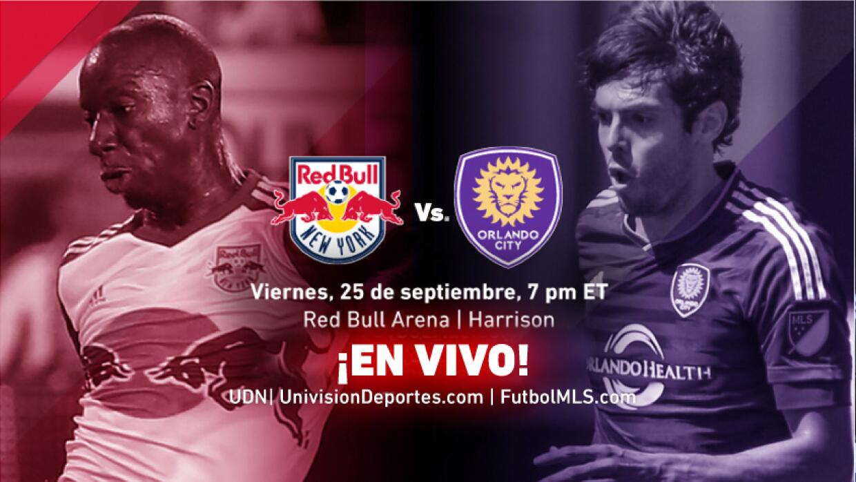 EN VIVO | New York Red Bulls vs Orlando City SC