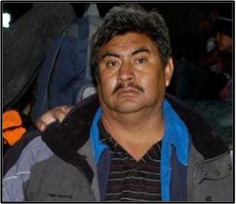Sergio González Zamora, el segundo detenido.