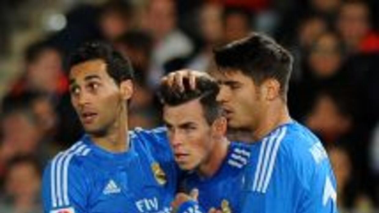 Gareth Bale hizo el tercero del Real Madrid.