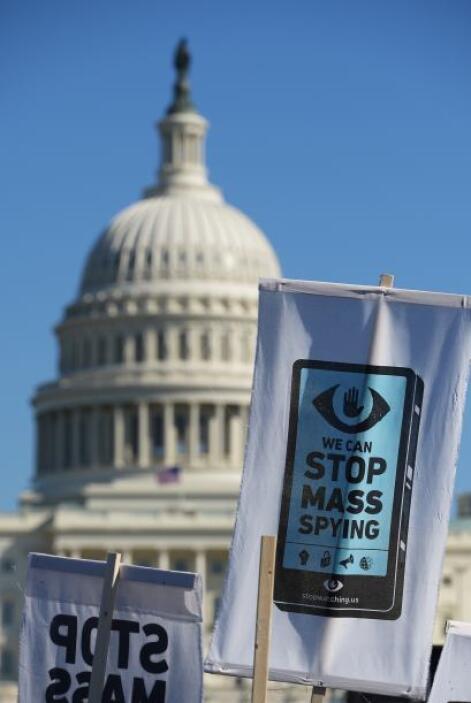 Culminó ante el Congreso de EEUU en el centro de la capital estadouniden...