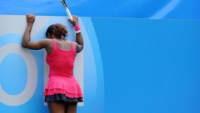 Serena se agarró a la pista. Tuvo un gran comienzo pero la derrota en el...