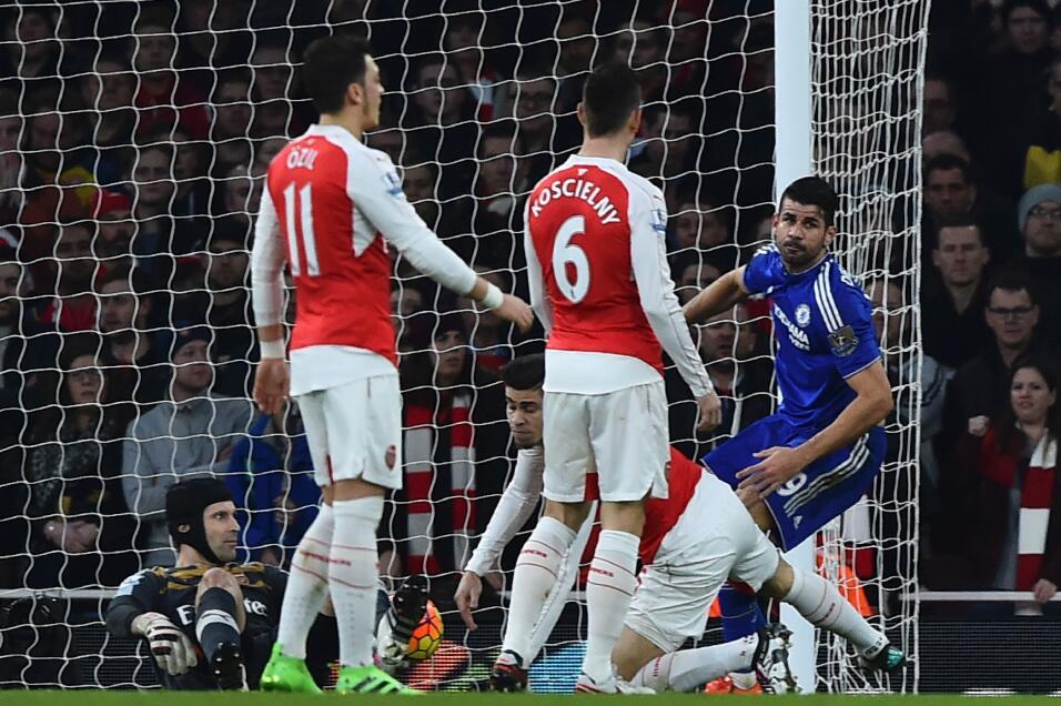 Los Blues se llevan el derby ante los Gunners