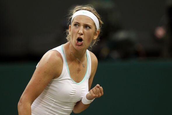 Azarenka superó con facilidad a la serbia Ana Ivanovic por 6-1 y...