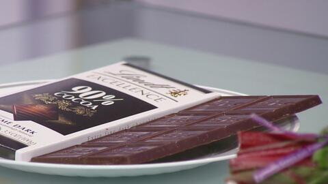 Chocolate y naranjas, entre los alimentos que ayudan a mejorar el estado...