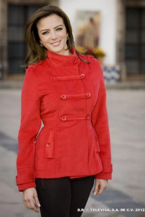 """Recientemente la vimos en """"Amor Bravío"""", telenovela con la que demostró..."""