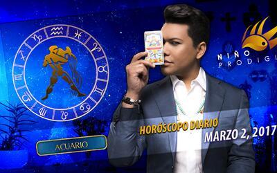 Niño Prodigio - Acuario 2 de marzo, 2017