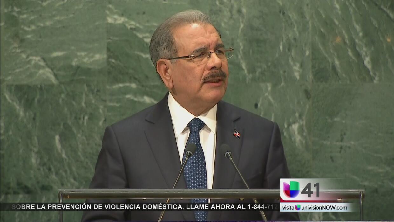 Presidente de República Dominicana habla sobre desigualdad frente a Naci...