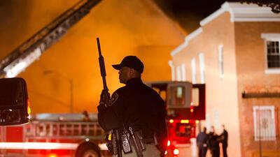 Estado de emergencia en Baltimore