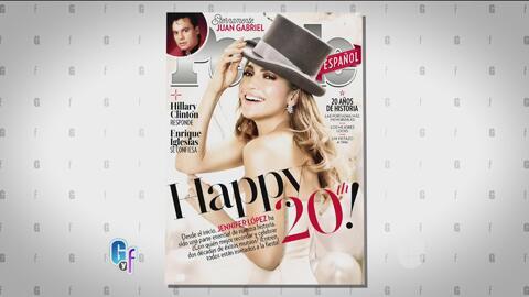 People en Español celebra su 20o aniversario y JLo es la portada de esta...
