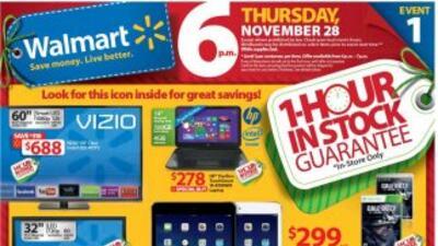 Este 2013, comparado con el año pasado, Walmart ofrecerá 65 por ciento m...