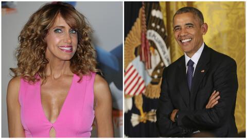 Lili terminó bailando con Obama hasta las cuatro de la mañana en la Casa...