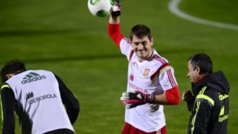 Casillas es optimista y no deja de trabajar para volver a ser el arquero...