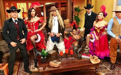 #RetroJueves: Bailamos can-can y montamos a caballo como en el Viejo Oeste