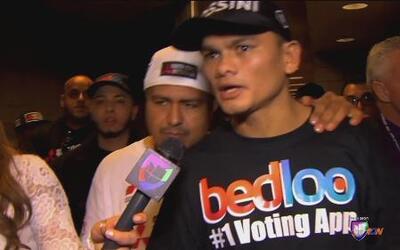 Marcos Maidana: 'Corrió y no me dejó pelear'