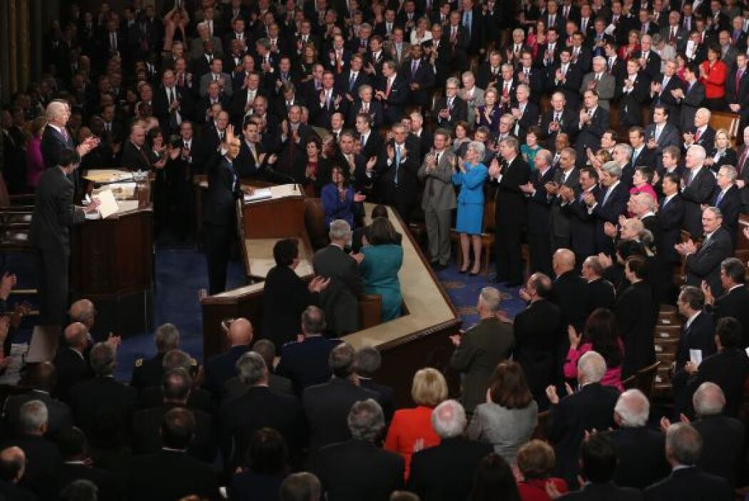 En su discurso del martes por la noche, Obama dijo que hay mucho que rep...
