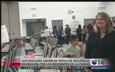 Vecinos discuten cómo mejorar la seguridad en San José