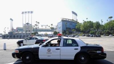 Policías de Los Ángeles.