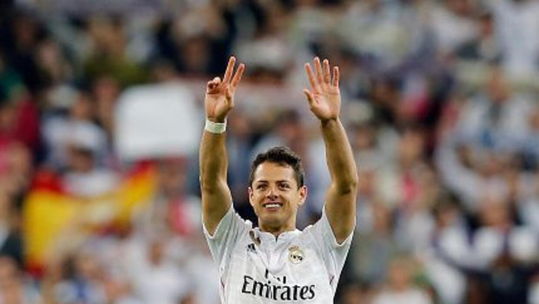 El delantero mexicano vive un gran momento con el Real Madrid.