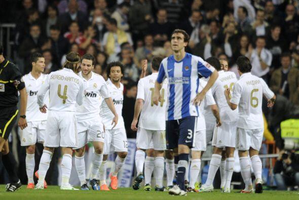 El Real Madrid vivió una fiesta ante la Real Sociedad.