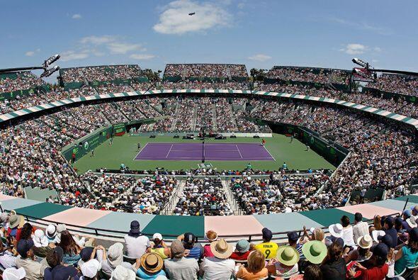 Todo el público en Miami esperaba ver un duelo muy cerrado en la...